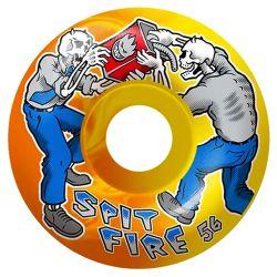 Ruote Skate Spitfire TEAM FIREFRIGHT SWIRL 54MM
